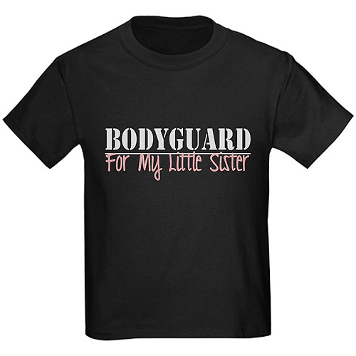 Cafepress Boy's Bodyguard for Sis Graphic Tee