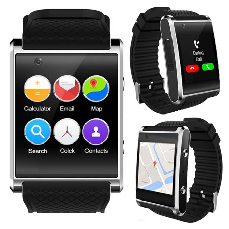 Android 5.1 SmartWatch [Bluetooth Sync + 1.54-inch AMOLED + QuadCore + WiFi]