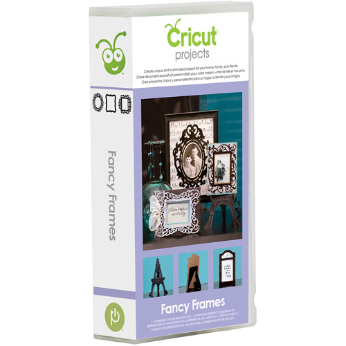 Cricut Projects Fancy Frames Cartridge
