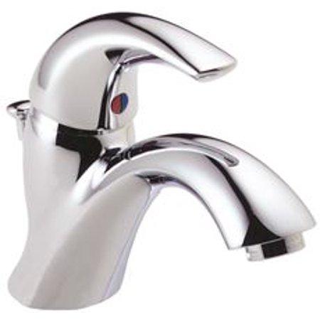 Touch Free Centerset (Delta Single Handle Centerset Bathroom Faucet, Lead Free )