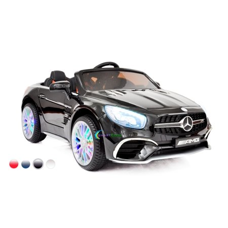 New 12V Mercedes AMG SL65 Ride on power electric ONE SEATER car For ONE Kid with MP4 Touch Screen Remote Control LED lights MP3 -