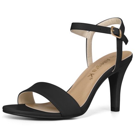 Unique Bargains Women's Stiletto Heel Ankle Strap Dress Sandals - Highest Stiletto Heels