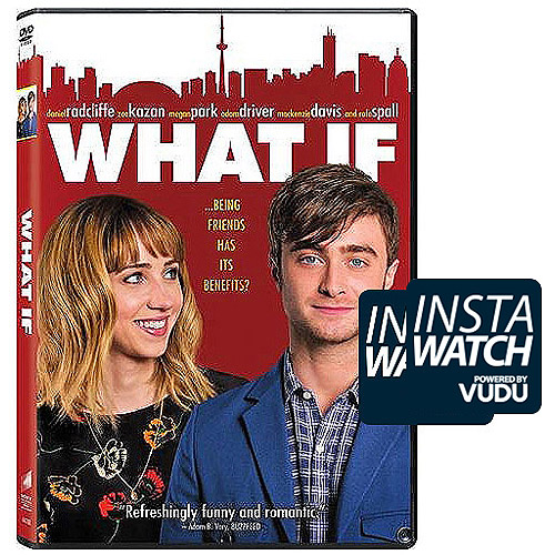 What If (2014) (DVD   Digital HD) (With INSTAWATCH) (Widescreen)