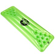 GoPong Pool Pong Table - Inflatable Floating Beer Pong Table Pool Float Game for Adults, Green