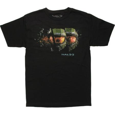 Halo 5 Guardians Master Chief Helmet T-Shirt