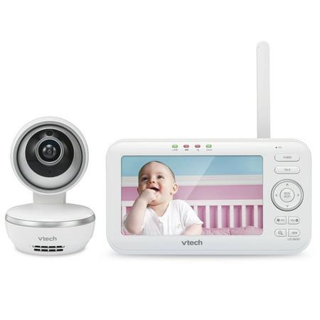 "983eaf30df143 Vtech VM5261 5"" Digital Video Baby Monitor with Pan   Tilt Camera ..."