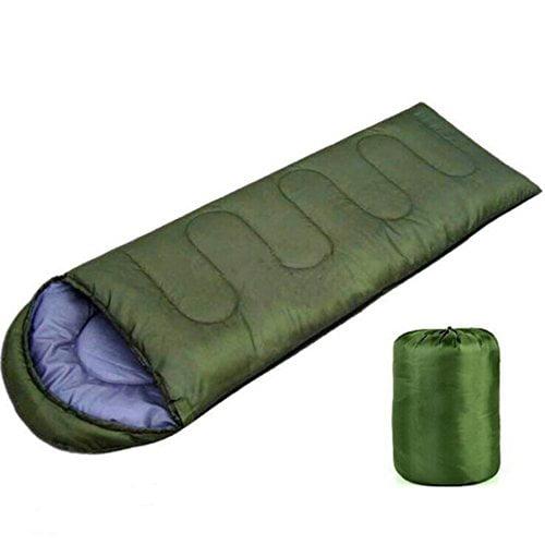 Indoor and Outdoor Light Weight Sleeping Bag (Green)
