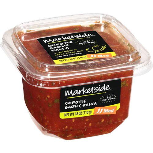Marketside Chipotle Garlic Medium Salsa, 18 oz