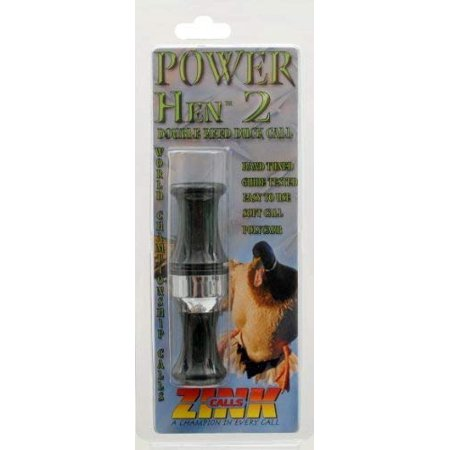 Zink Calls - Power Hen 2, Double Reed Duck Call