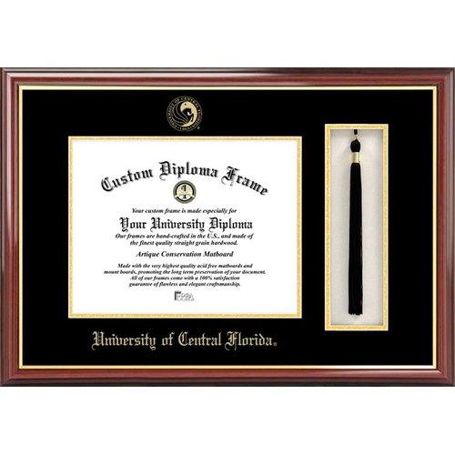 "University of Central Florida 8.5"" x 11"" Tassel Box and Diploma Frame"