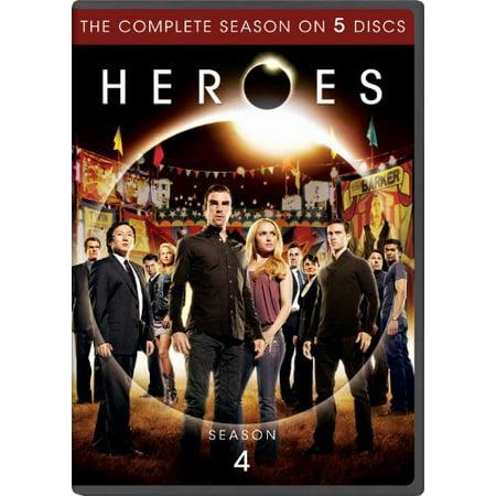 Heroes  Season Four  Anamorphic Widescreen