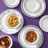 Corelle Classic 16-Piece Black & White Dinnerware Set Deals