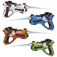 GPX Laser Tag Blasters, 4 Pack
