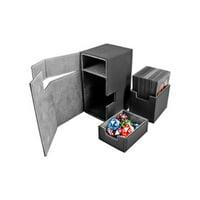 Flip Deck Box w/Tray - Xenoskin, Black (80+) MINT/New
