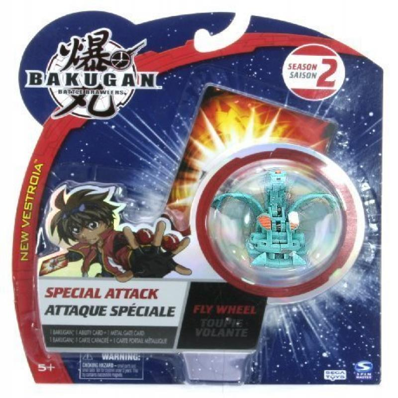 Bakugan Battle Brawlers New Vestroia Special Attack Season 2 Fly Wheel Green (Ventus)