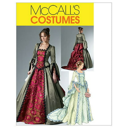 McCall's Misses' Victorian Costume, (14, 16, 18,
