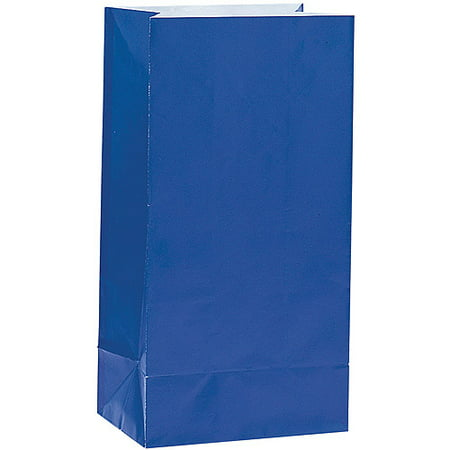 Paper Luminary & Party Bags, Royal Blue, 12ct Buddies Treat Bags