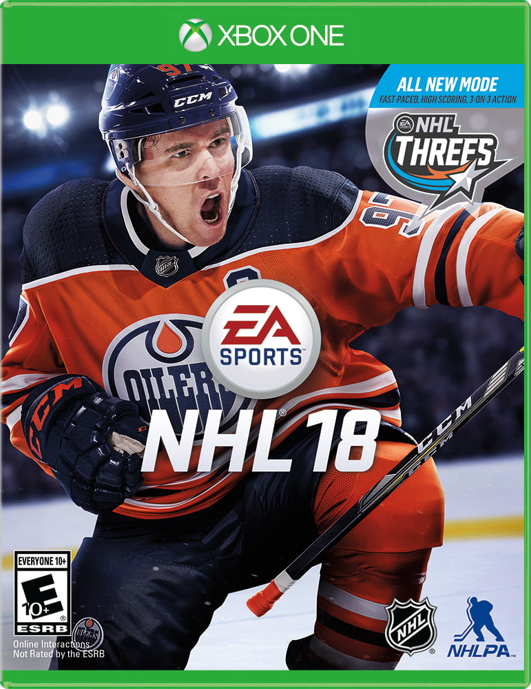 NHL 18, Electronic Arts, Xbox One, 014633370065
