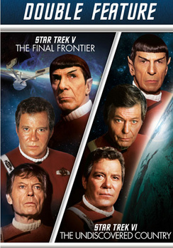 Star Trek V: The Final Frontier   Star Trek VI: The Undiscovered Country (DVD) by Paramount Home Entertainment