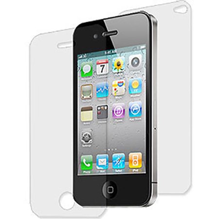 NEW FRONT BACK SCREEN PROTECTOR SHEET LCD SAVER FOR APPLE iPHONE 4S 4 4G](Funny Halloween Screensaver)