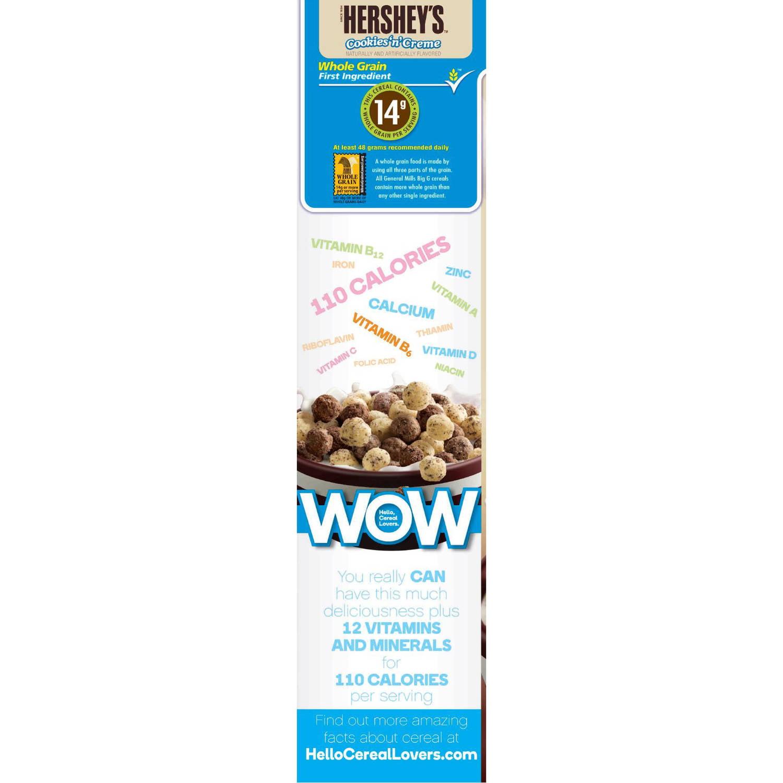 hershey's cookies n creme cereal nutrition Hershey Cookies And Cream Cereal