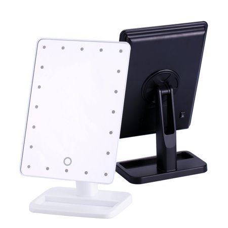 20 LED Adjustable Touch Lighted Vanity Mirror / Natural Bright Light Makeup