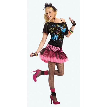 '80s Pop Party Adult Halloween Costume - 80s Halloween Costumes Diy