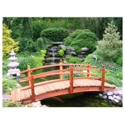 10 ft. Curved Double Rail Span Bridge (Curved Double Rail Sealed)