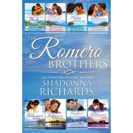 The Romero Brothers (Complete Collection, Books 1-8) - eBook (Halloween 1-8 Collection)