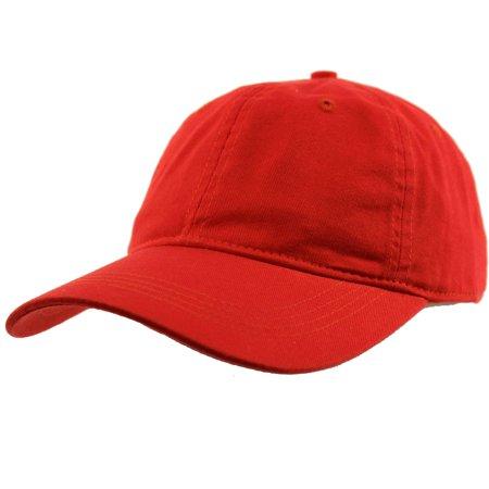 Everyday Unisex Cotton Dad Hat Plain Blank Baseball Adjustable Ball Cap -  Walmart.com ea72a9035de