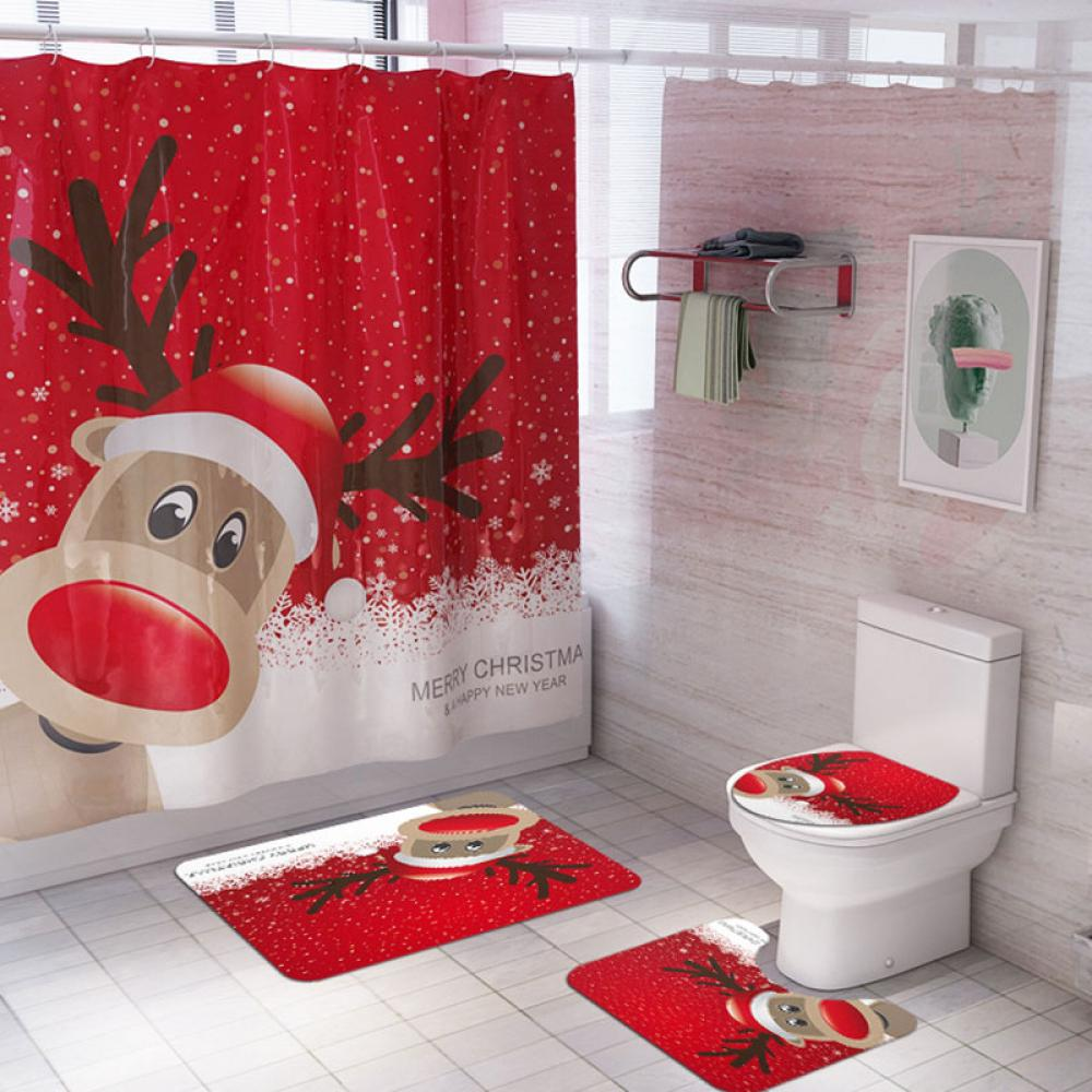 Details about  /Girls Shower Curtain House in Flames Magic Print for Bathroom