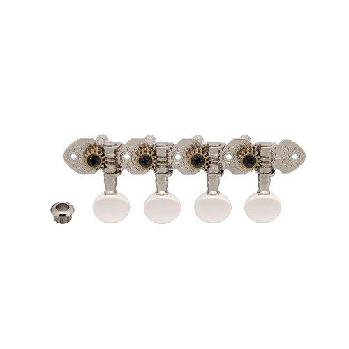 Gotoh GT-120-N A-Style Mandolin Tuners, Nickel Plated Multi-Colored by Gotoh - NIS Code