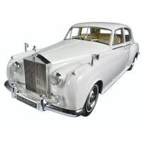 1960 Rolls Royce Silver Cloud II White 1/18 Diecast Model Car by Minichamps