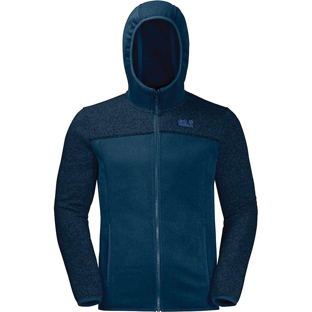 Jack Wolfskin Men's Elk Hooded Jacket