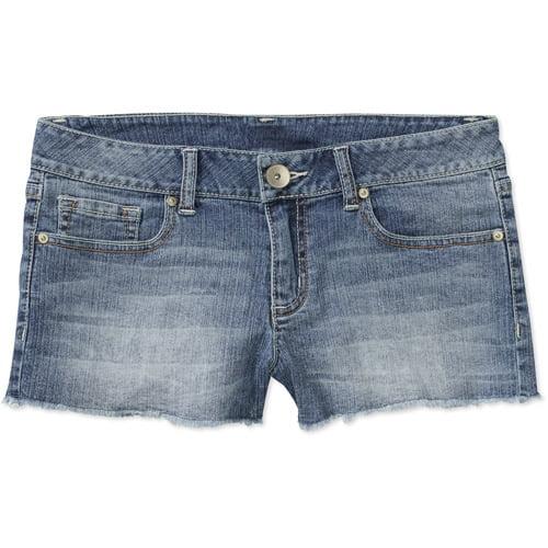 No Boundaries Juniors' Cut-Off Denim Shorts
