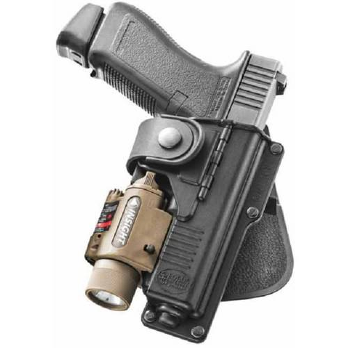 Fobus Paddle Holster fits Glock 17,22,31 with Laser or Light by Generic