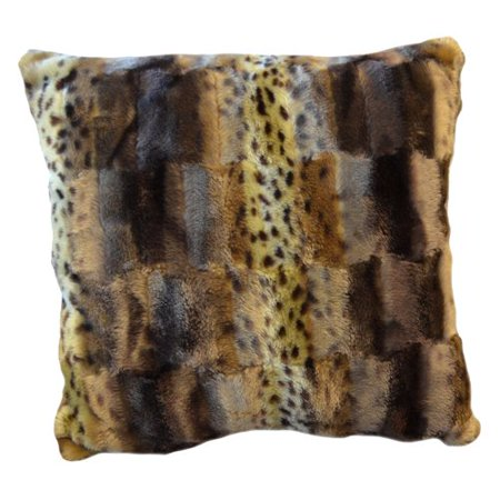 Better Homes And Gardens Faux Fur Decorative Pillow