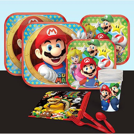 Super Mario Brothers Party Pack (Super Mario Brothers Decorations)