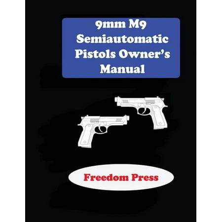 9mm M9 Semiautomatic Pistol Owner's Manual thumbnail