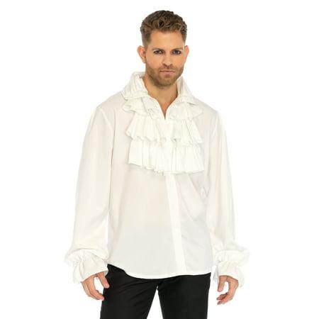 Leg Avenue Men's Ruffled Renaissance Shirt