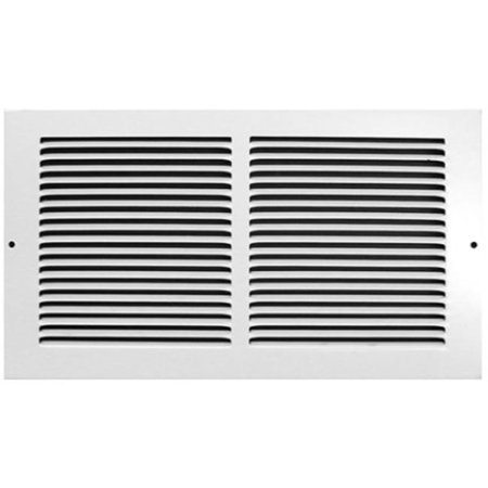 Opening Style Grille (Accord AB3BRWH146 Baseboard Grille with 1/3-Inch Fins Louvered Design, 14-Inch x 6-Inch(Duct Opening Measurements),)