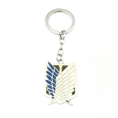 Attack on Titan Keychain Key Ring Anime Manga Game Gaming Auto/Boat House Keys for $<!---->