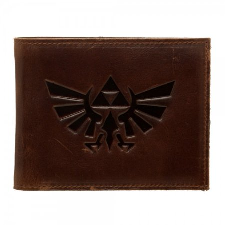 Zegna Leather (Wallet - Nintendo - Zelda Leather Bi-Fold New Licensed mw4tnqntn )