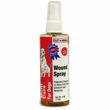 Multicare for Dogs Wound Spray by Cut Heal  4 oz._DX ()