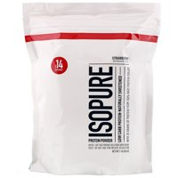 Isopure Low Carb Protein Powder, Strawberry, 1 lb (454 g)
