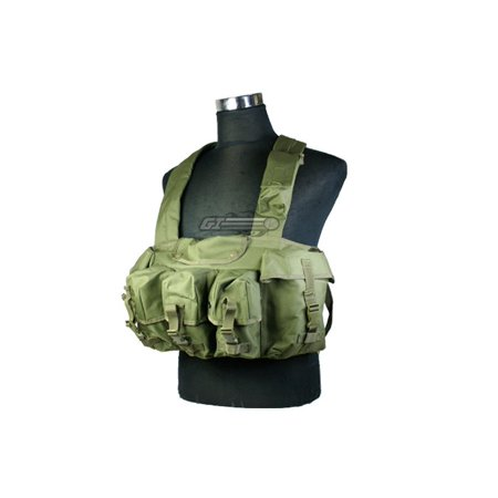 Condor Outdoor 7 Pocket Chest Rig Color- Od Green (Airsoft Chest Rigs)