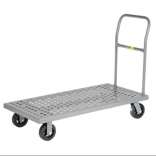 LITTLE GIANT T-520-P-1H Platform Truck, Perforated Deck, 48x24