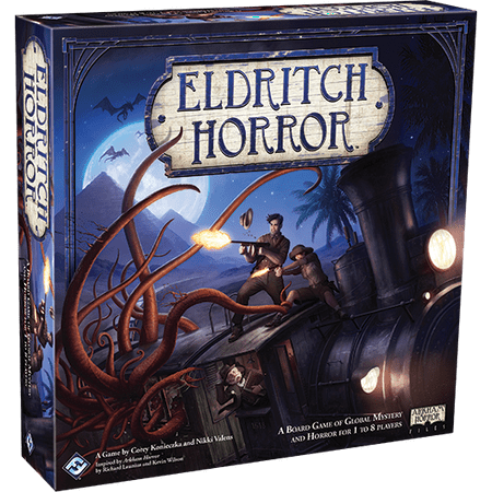 Eldritch Horror Strategy Board - Halloween Horror Game