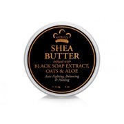 100% Organic Shea Butter Infused with African Black Soap Nubian Heritage 4 oz Cream