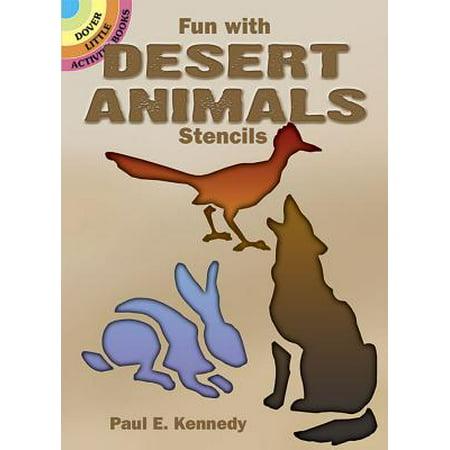 Fun with Desert Animals Stencils